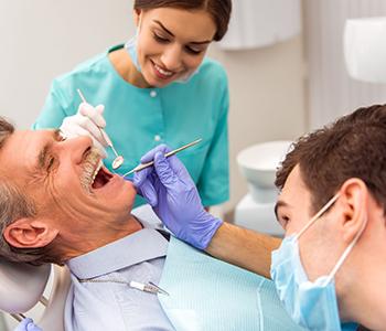 Dr. Edward Fritz Dentures Gilbert area patients ask, is dentures treatment painful?