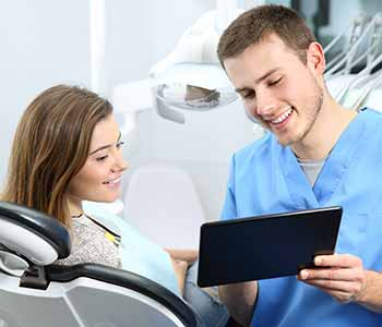 root canal therapy, is a treatment that is provided and explained by the dentist and his team at New Health Dental to patients who are unsure what this treatment entails.
