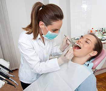 Patient is taking treatments for root canal